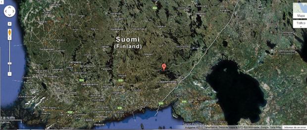 Lago Saimaa. Finland